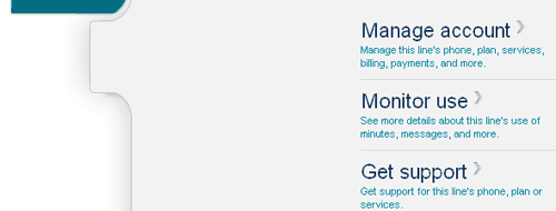 T-Mobile\'s default page in Chrome, post login
